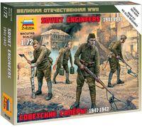 """Набор миниатюр """"Советские саперы 1941-1942гг."""" (масштаб: 1/72)"""
