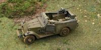 "Бронетранспортер ""M3A1 Scout Car"" (масштаб: 1/72)"