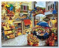 "Картина по номерам ""Цветочная кофейня"" (400x500 мм; арт. HB4050307)"