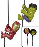 Наушники Neca Scalaers Avengers Iron Man and Hulk (5 см)