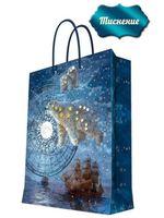 """Пакет бумажный подарочный """"Большая медведица"""" (26х32,4х12,7 см; арт. 44228)"""