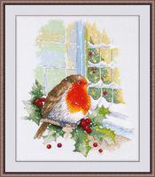"""Вышивка крестом """"В предверии Рождества"""" (230х300 мм)"""