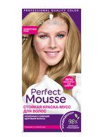 """Краска-мусс для волос """"Perfect Mousse"""" тон: 910, пепельный блонд"""