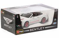 """Модель машины """"Bburago. Bentley Continental"""" (масштаб: 1/18)"""