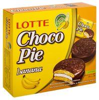 "Пирожное ""Lotte. Choco-Pie Banana"" (12 шт.)"