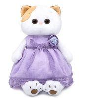 """Мягкая игрушка """"Кошечка Ли-Ли в лавандовом платье"""" (24 см)"""