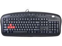 Игровая мультимедийная клавиатура A4Tech KB-28G-1 USB (Black)