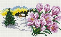 """Алмазная вышивка-мозаика """"В ожидании весны"""" (200х300 мм)"""