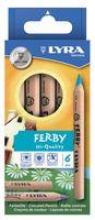 "Цветные карандаши ""FERBY NATURE"" (6 цветов)"