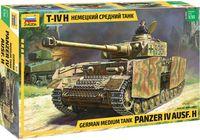 Немецкий средний танк Panzer IV Ausf.H (Т-IV H) (масштаб: 1/35)