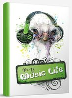 "Блокнот ""My musiс life"" (А5)"