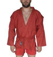 Куртка для самбо AX5 (р. 52; красная; без подкладки)