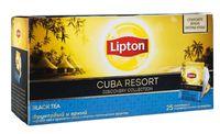 """Чай черный """"Lipton. Cuba Resort"""" (25 пакетиков)"""