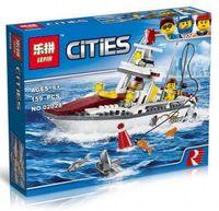 """Конструктор Cities """"Рыболовный катер"""""""