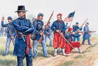 "Набор миниатюр ""Union Infantry and Zouaves"" (масштаб: 1/72)"