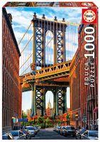 """Пазл """"Манхэттенский мост. Нью-Йорк"""" (1000 элементов)"""