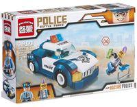 """Конструктор """"Police. Полицейская машина"""" (111 деталей)"""