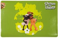 "Коврик под миску ""Shaun the Sheep"" (44х28 см; зеленый)"