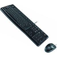 Комплект клавиатура + мышь Logitech Desktop MK120