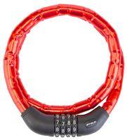 """Велозамок кодовый """"81601"""" (100 см; красный)"""