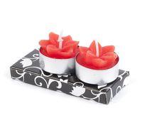 Набор свечей декоративных в металлических гильзах (2 шт.; 3,5х2 см)