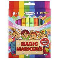 """Набор фломастеров цветных """"Magic Markers"""" (10 шт.; 9 цветов)"""