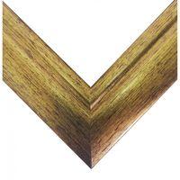 Рамка деревянная для картины по номерам (50х65 см; золото)