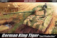 Немецкий тяжелый танк King Tiger (масштаб: 1/35)