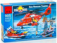 "Конструктор ""Fire Rescue. Команда морских спасателей"" (404 детали)"
