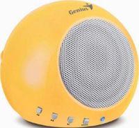 Портативная колонка Genius SP-i300 (yellow)