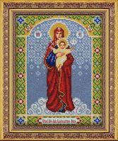 """Вышивка бисером """"Пресвятая Богородица Благодатное небо"""""""
