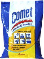 """Чистящий порошок COMET """"Лимон"""" c хлоринолом в полиэтиленовом пакете (400 г)"""