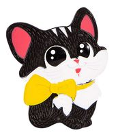 "Мини-коврик для ванночки ""Котёнок с бантом"""