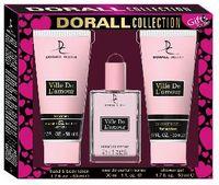 """Подарочный набор """"Ville De L'amour"""" (туалетная вода, гель для душа, лосьон для рук и тела)"""