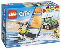 """LEGO City """"Внедорожник с прицепом для катамарана"""""""