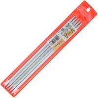 Спицы для вязания (металл; 5.0 мм; 5 шт.; арт. VT5)