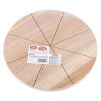 Доска для пиццы деревянная (320х320х15 мм)