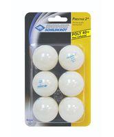 """Мячи для настольного тенниса """"Prestige"""" (белые; 6 шт.; 2 звезды)"""