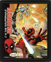"Постер 3D ""Marvel. Deadpool"""