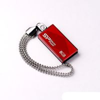 USB Flash Drive 8Gb Silicon Power Touch 810 (Red)