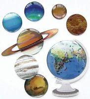 """Стикеры для скрапбукинга """"Джоли. Планеты"""" (арт. EKS-SPJB710)"""