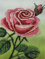 """Вышивка бисером """"Розовая роза"""""""