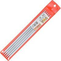 Спицы для вязания (металл; 5.5 мм; 5 шт.; арт. VT5)