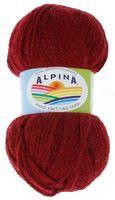 """Пряжа """"ALPINA. Alpaca trenza №09"""" (50 г; 150 м; бордовый)"""