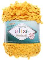 "Пряжа ""ALIZE. Puffy Fine Ombre Batik №7278"" (500 г; 73 м; желтый)"
