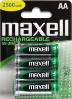 Аккумуляторы AA 2300 mAh Maxell (4 штуки)