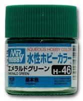 Краска Aqueous Hobby Color водоразбавляемая (emerald green, H-46)