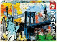 """Пазл """"Символы Нью-Йорка"""" (1500 элементов)"""