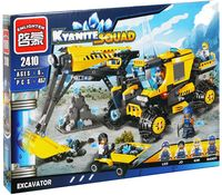 "Конструктор ""Kyanite Squad. Экскаватор"" (457 деталей)"