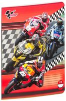 """Тетрадь в линейку """"MotoGP"""" 12 листов"""